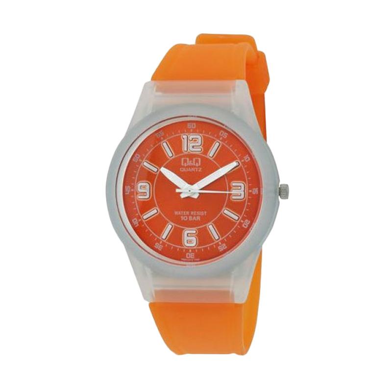 Q&Q VQ50J010Y Casual Orange Jam Tangan Wanita