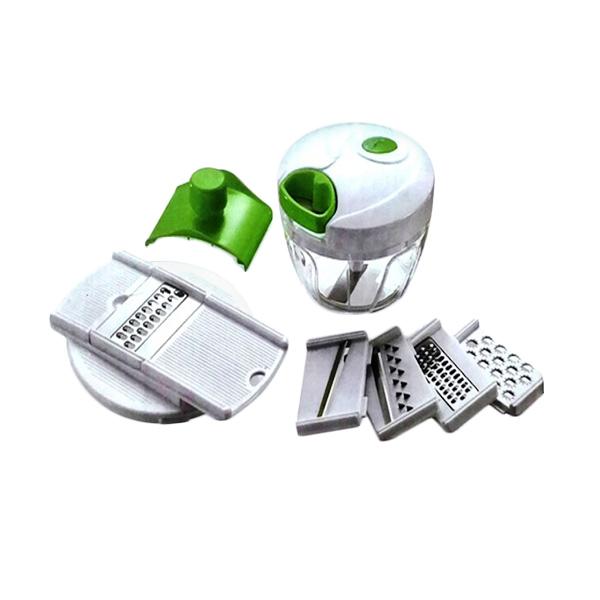 DEC Mini Cutter Q2 P202 Full Set - Perajang Bawang - Alat Pemotong Serba Guna