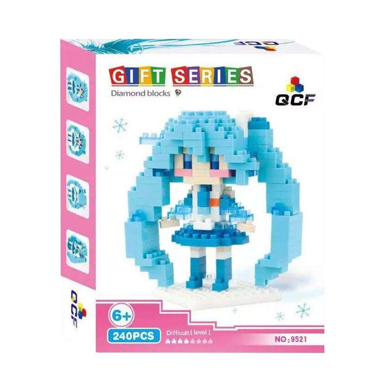 Qcf 9521 Blue Mainan Blok & Puzzle