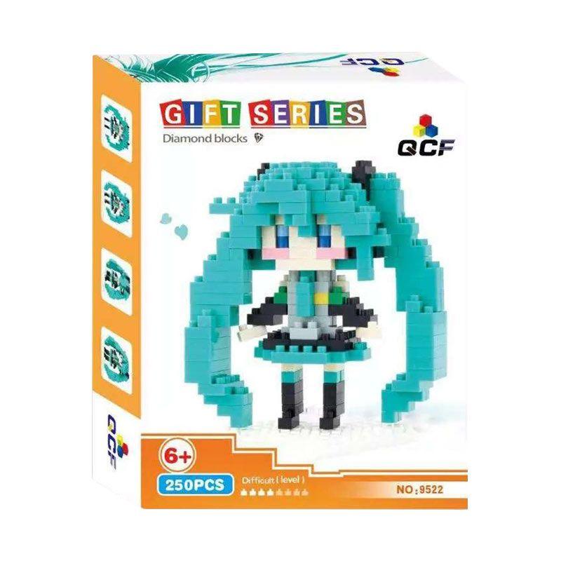 Qcf 9522 Turq Mainan Blok & Puzzle