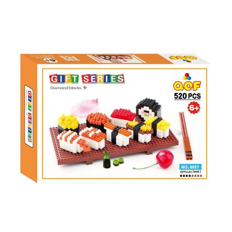 Qcf 9857 Japanese Sushi Mainan Blok & Puzzle