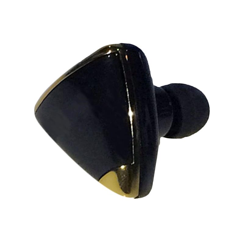 harga QCF Bluetooth Handsfree Bluetooth N7 Headset Bluetooth Pairing 2 Handphone Bersamaan - Hitam Blibli.com