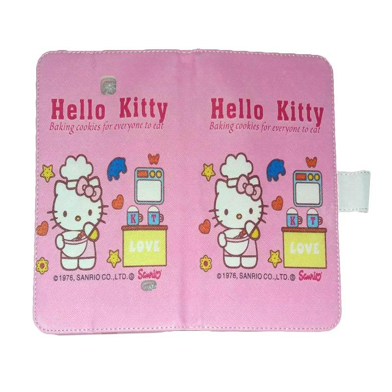 harga QCF Leather Case Hello Kitty 4 Casing for Samsung Galaxy Tab 4 T230 [7.0 inch] Blibli.com