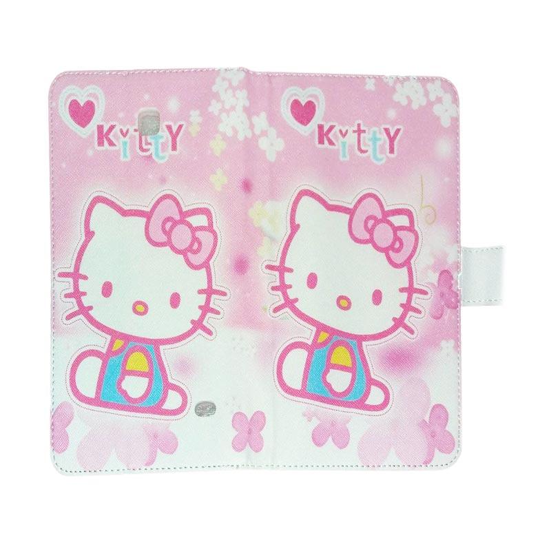harga QCF Leather Case Hello Kitty 9 Casing for Samsung Galaxy Tab 4 T330 [8.0 inch] Blibli.com