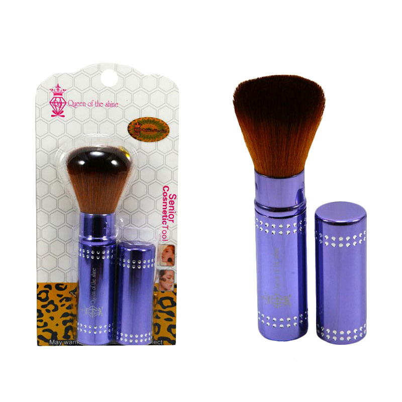 Queen Of The Shine 002 Make Up Brush Blush On - Purple