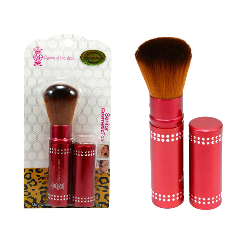 Queen Of The Shine 002 Make Up Brush Blush On - Red