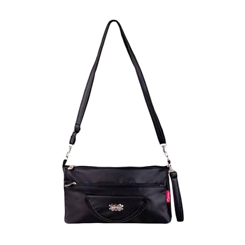 Quinta HPO Halfmoon Sling Bag - Black