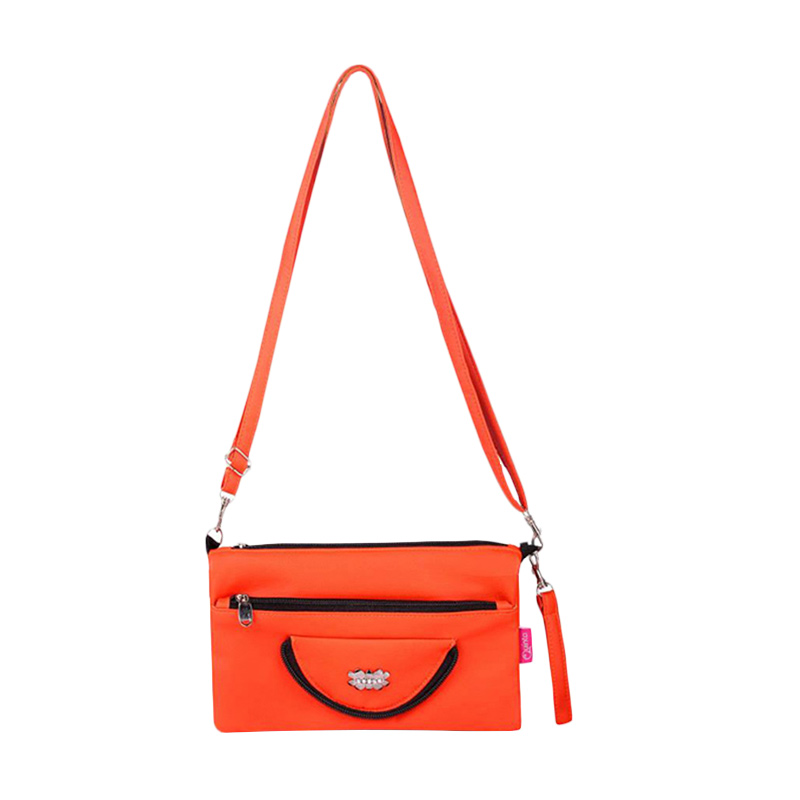 Quinta HPO Halfmoon Sling Bag - Orange