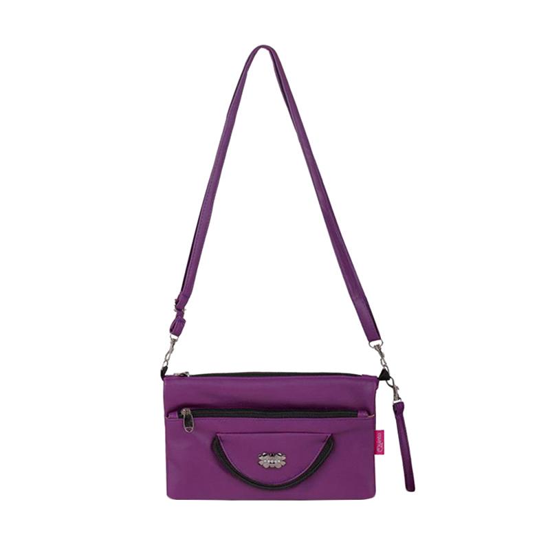 Quinta HPO Halfmoon Sling Bag - Purple