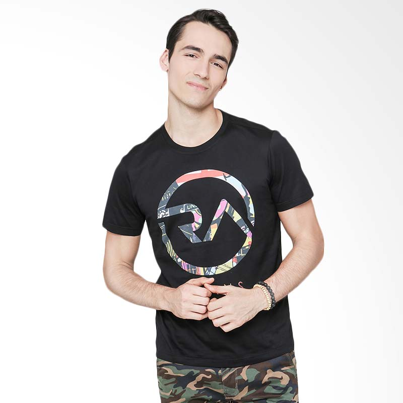 RA Jeans Colorful Logo Tee RAM 3 048B SS T-Shirt - Hitam Extra diskon 7% setiap hari Citibank – lebih hemat 10% Extra diskon 5% setiap hari