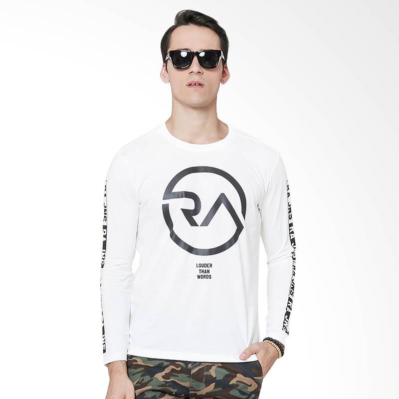 RA Jeans Louder Than Words JNS 87 RAM4 086W LS T-Shirt - Putih Extra diskon 7% setiap hari Extra diskon 5% setiap hari Citibank – lebih hemat 10%