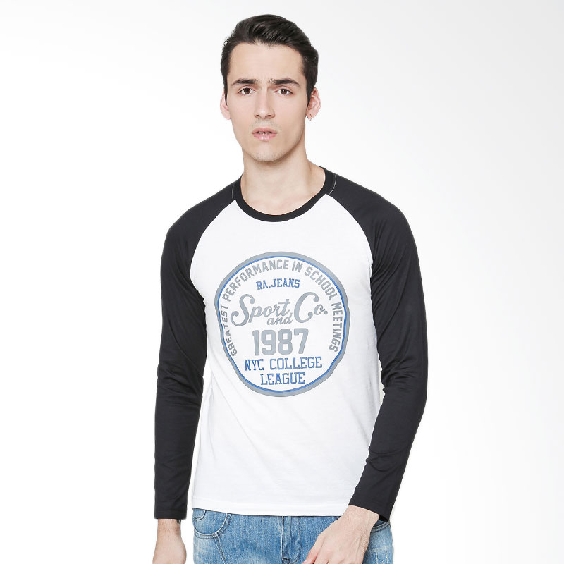 RA Jeans NYC College League RAM 3 056WB LS T-Shirt Pria - Putih Extra diskon 7% setiap hari Extra diskon 5% setiap hari Citibank – lebih hemat 10%