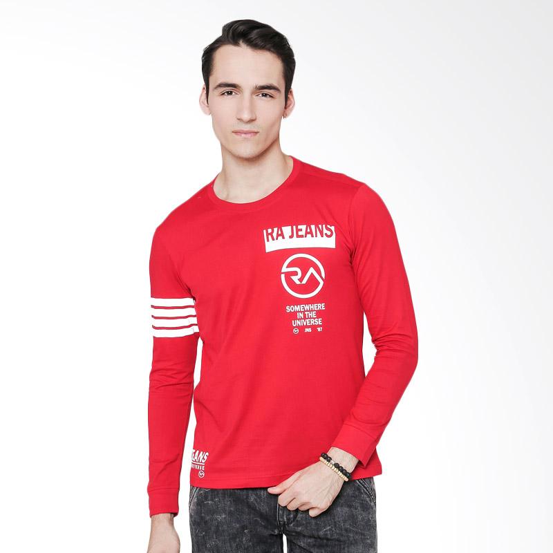 RA Jeans Somewhere In The Universe RAM4 093R LS T-Shirt - Merah Extra diskon 7% setiap hari Citibank – lebih hemat 10% Extra diskon 5% setiap hari