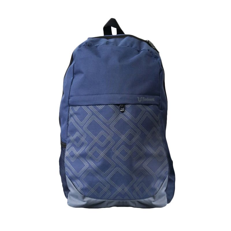 Radiant Squarish Biru Backpack Tas Ransel