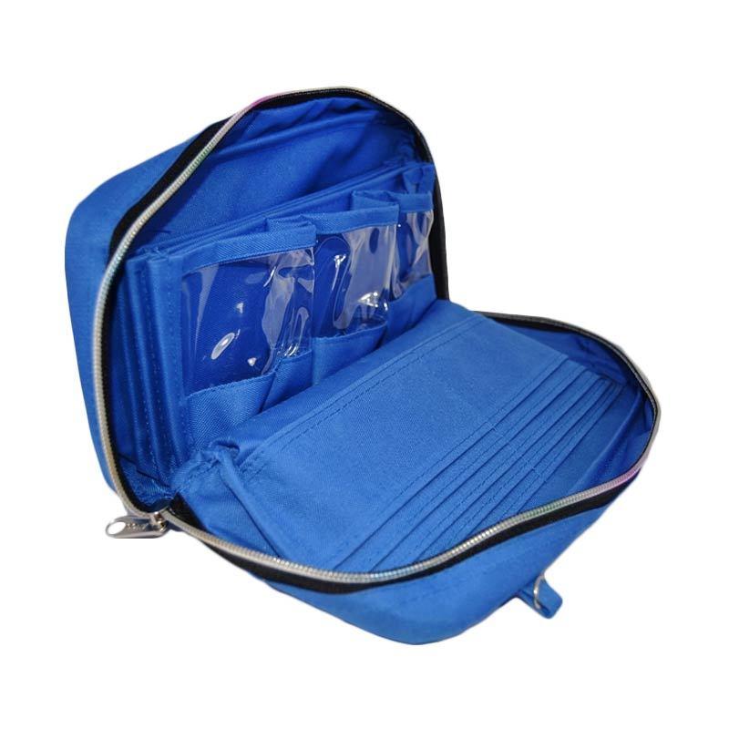 Radysa Bank Book Organizer Blue