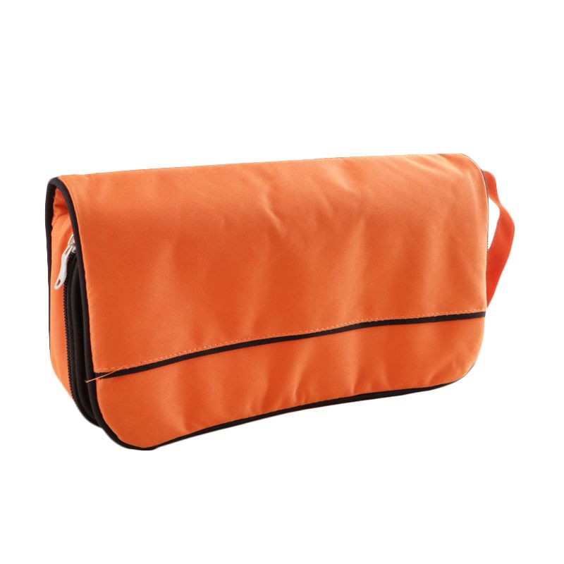 Radysa Orange Gadget Charger Organizer