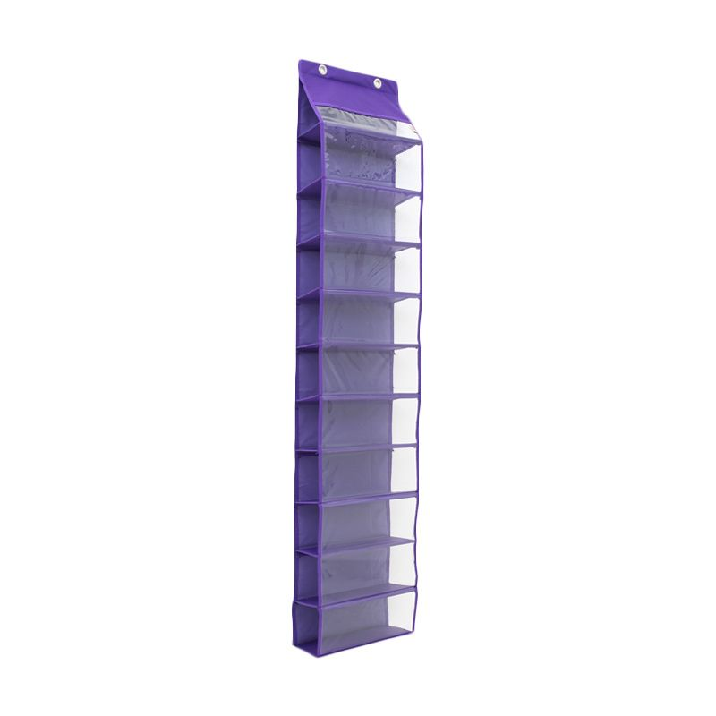 Radysa Hanging Shoe Organizer Purple