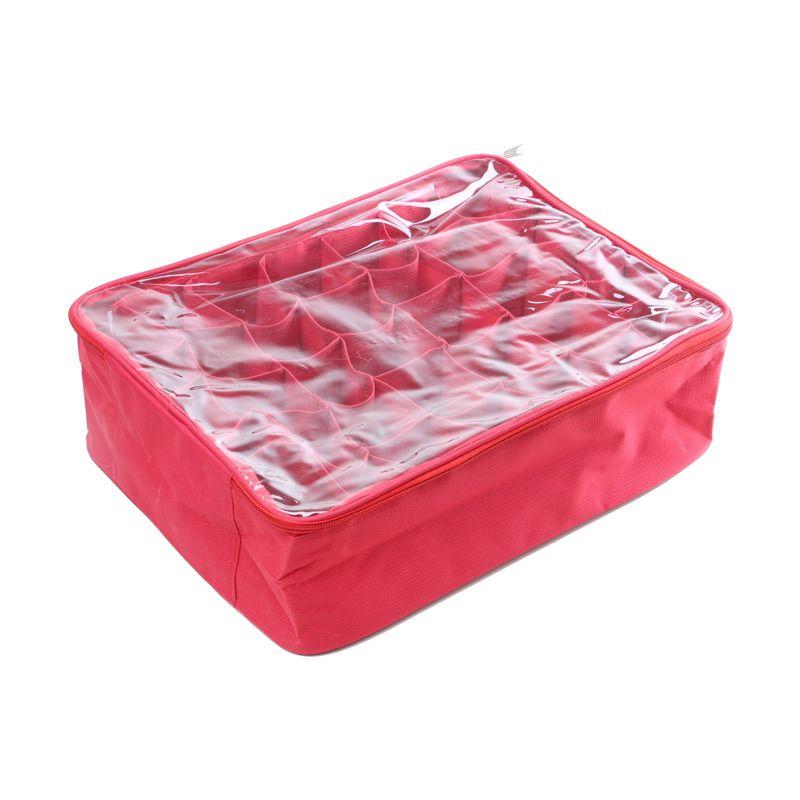 Radysa Red Panty Case Organizer