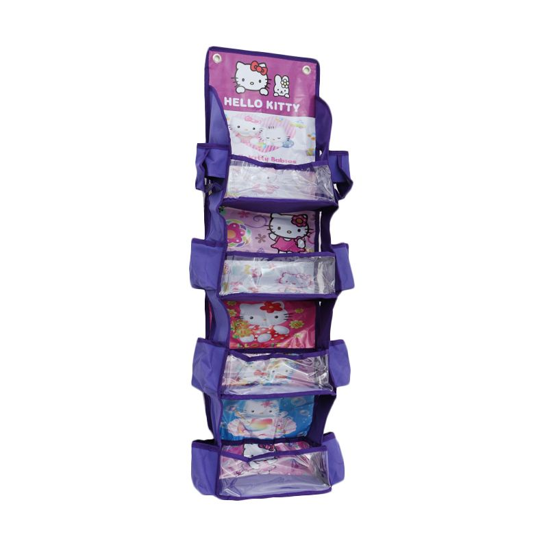 Radysa Hello Kitty Purple Multifunction Rack Organizer