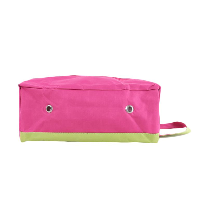 Radysa Pink Green Shoe Case Organizer