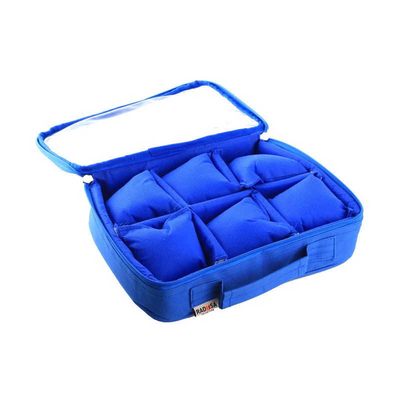 Radysa Biru Tua Watch Case Organizer