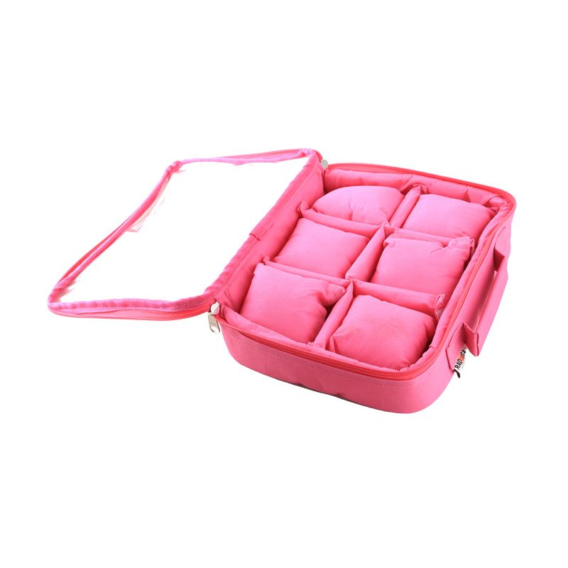 Radysa Magenta Watch Case Organizer
