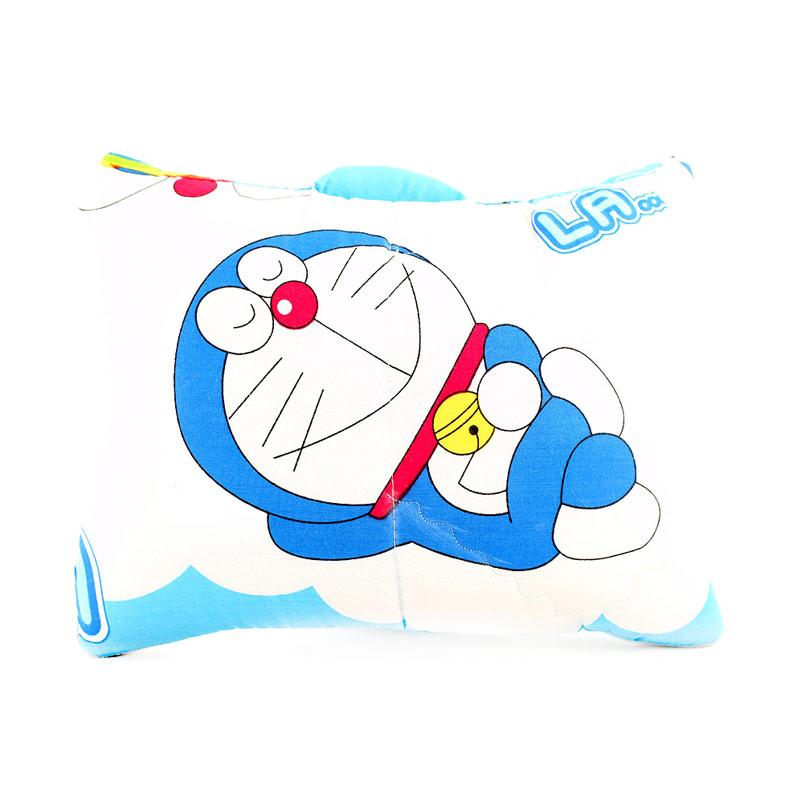 Rainbow Bantal Selimut Karakter Doraemon