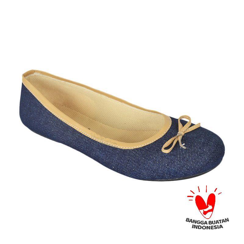 Raindoz Denim Blue Sepatu Wanita