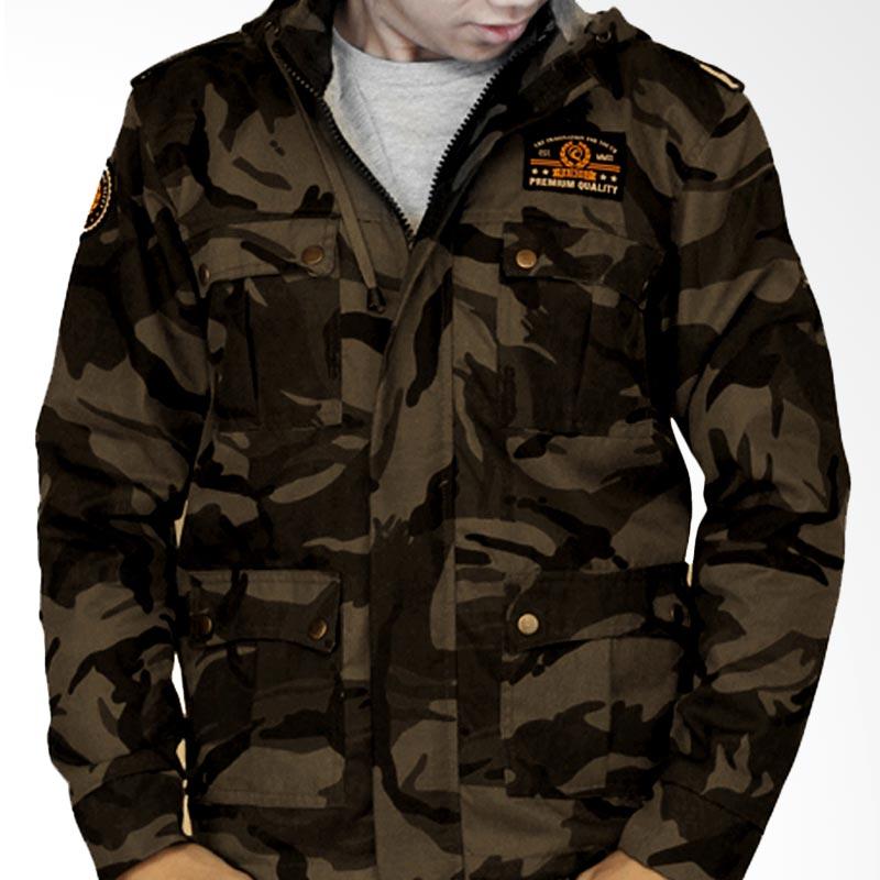 Raindoz Jacket RNJ003 Army Grey