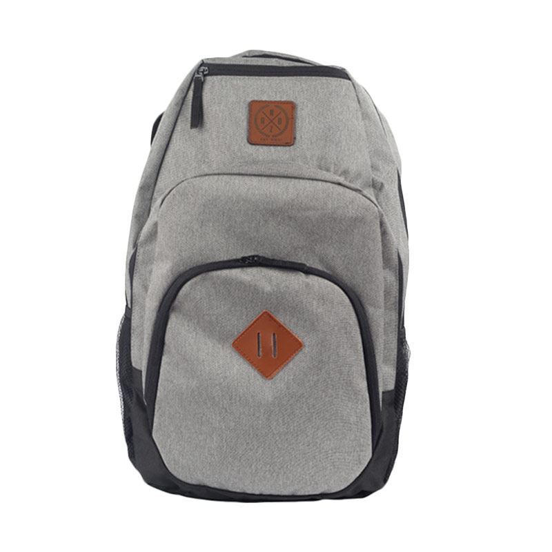 Raindoz RMB001 Double Front Pocket Grey Backpack