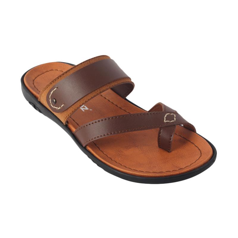 Raindoz Sandals RCI108 Cross Strap Brown