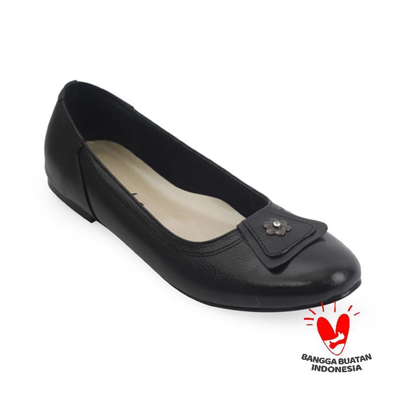 Raindoz Women Flats Black