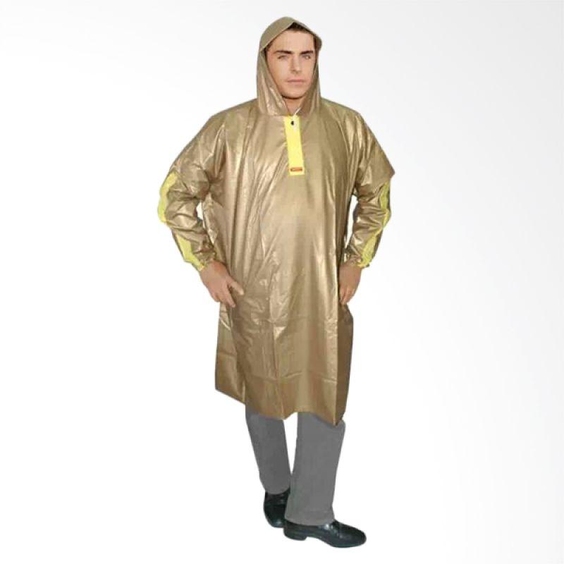 Rainwear Poncho Taruna Kuning Jas Hujan