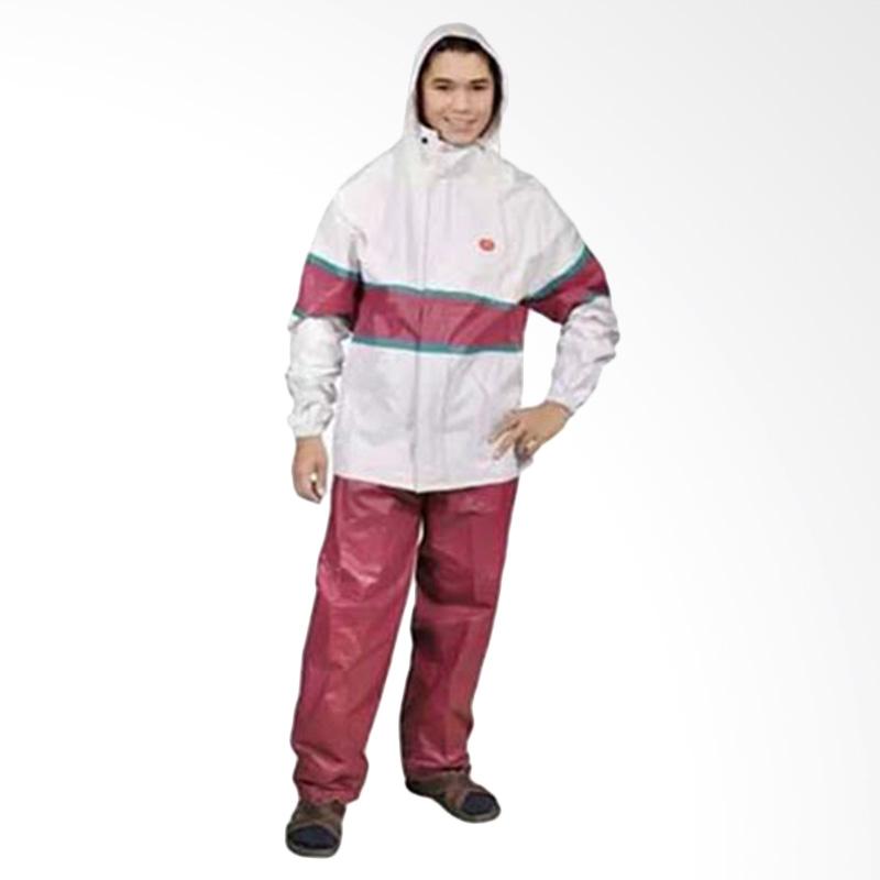 Rainwear Horison Merah Set Jas Hujan