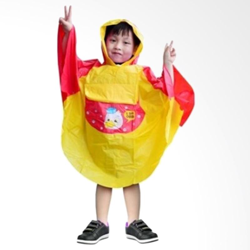 Rainwear Poncho Anak Kuning Jas Hujan