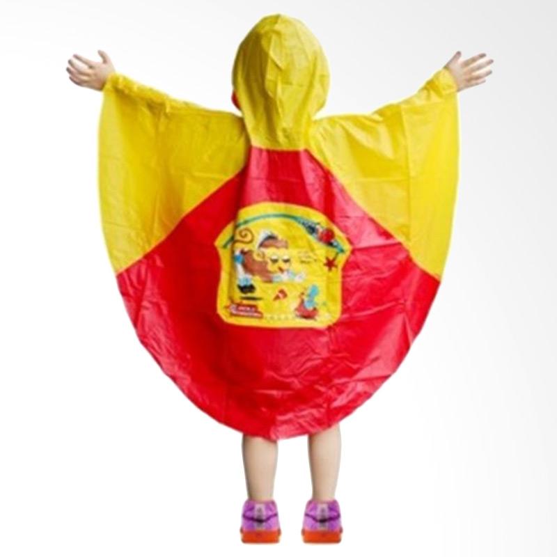 harga MOM Poncho Jas Hujan Anak Merah Blibli.com