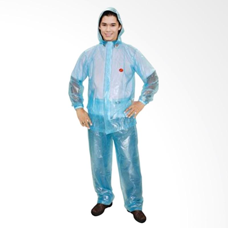 Rainwear Tranz Set Jas Hujan Biru