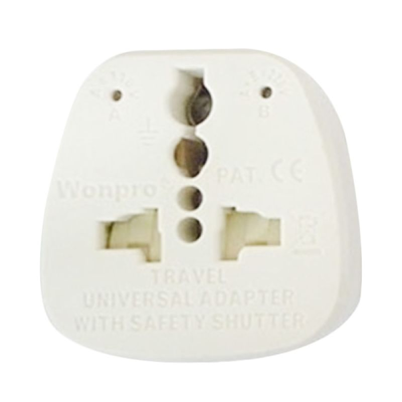Wonpro AST-P4vs Universal Putih Travel Adapter