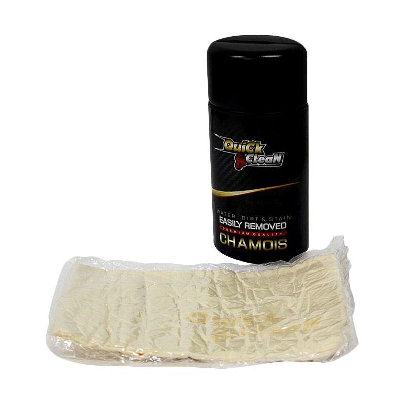 Chamois Premium Quality Quick & Clean Kain Pembersih [42 x 32 cm]