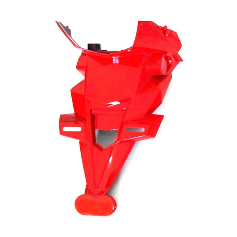 Raja Motor Tempat Dudukan Plat Nomor Ninja 250 Reflektor - Merah