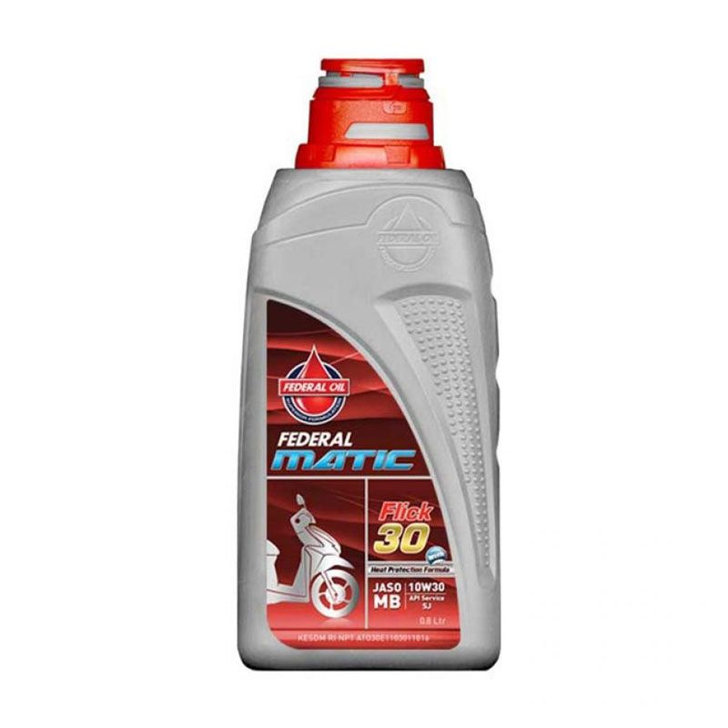 Federal OME1093 Supreme Flick Matic 10W30 Oli Pelumas [800 mL]