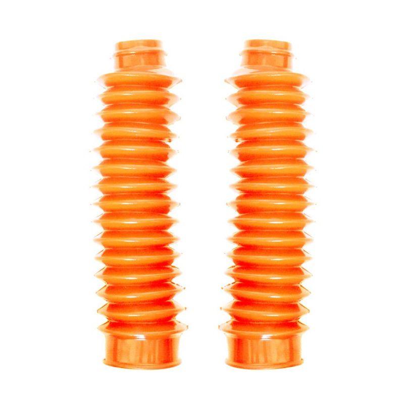 Raja Motor KSH6044-Orange Karet Shock Depan Motocross Spiral Besar