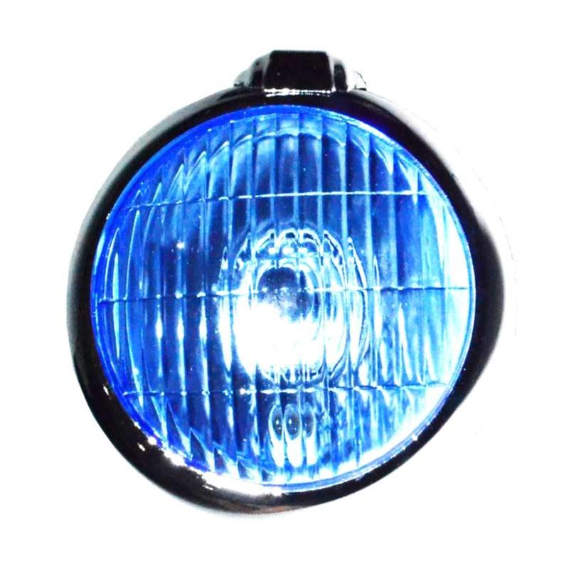 Jual Raja Motor Lampu Halogen Bulat Ons 189 Kaca Biru Chrome Lah9016 Online November 2020 Blibli Com