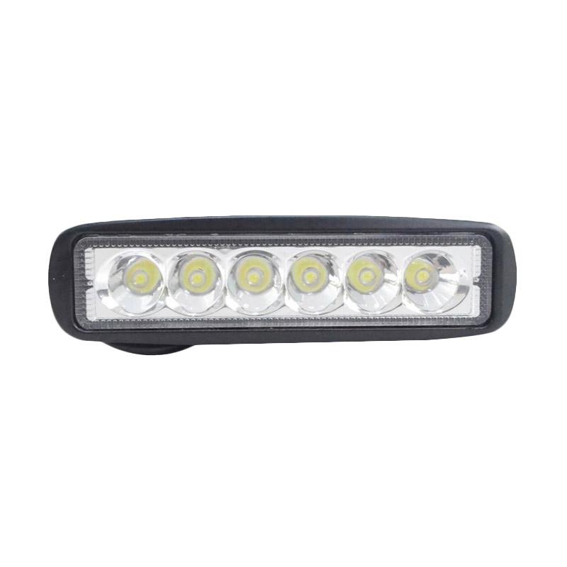 harga Raja Motor Lampu Tembak LED 6 Mata Pipih FI2259 - Putih [LAVLAH-Pipih-Putih] Blibli.com