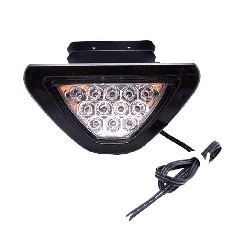 harga Raja Motor F1 Triangle LAS9014 White LED Lampu Stop Motor Blibli.com