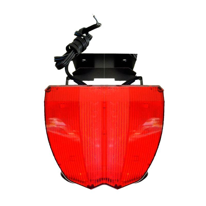 Raja Motor LAS9017-Merah Variasi LED Brake Lampu Laser Lampu Stop