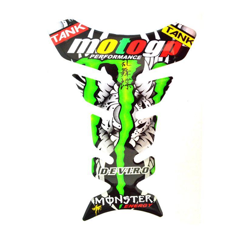 Raja Motor PET9008-MotoGP Deviro Sticker Pelindung Tangki