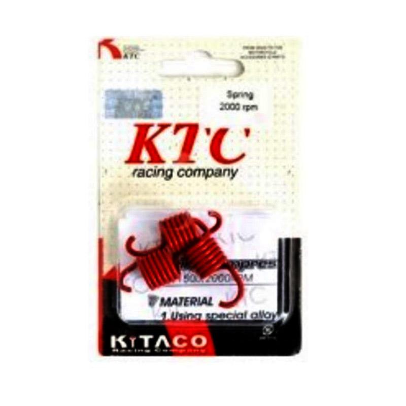 harga Raja Motor PRK1142 KTC (Kitaco) Per Kopling Otomatis Untuk Honda Vario 2000 RPM - Merah Blibli.com