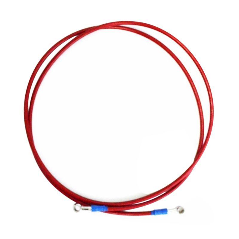 Raja Motor SDB8039 Scarlet Merah Selang Disc Brake Mesh [215 cm]