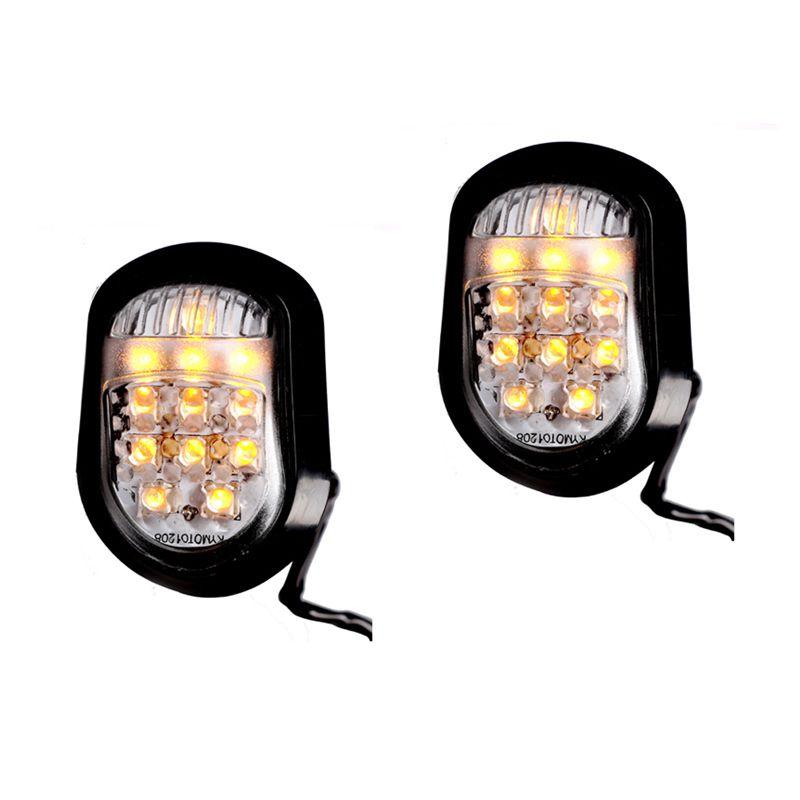 Raja Motor SEM9050-Kuning LED Ride-R Sen Tempel